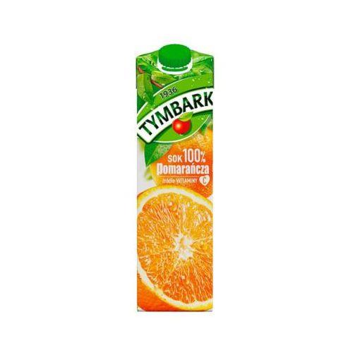 1l sok pomarańczowy 100% pomarańcza marki Tymbark