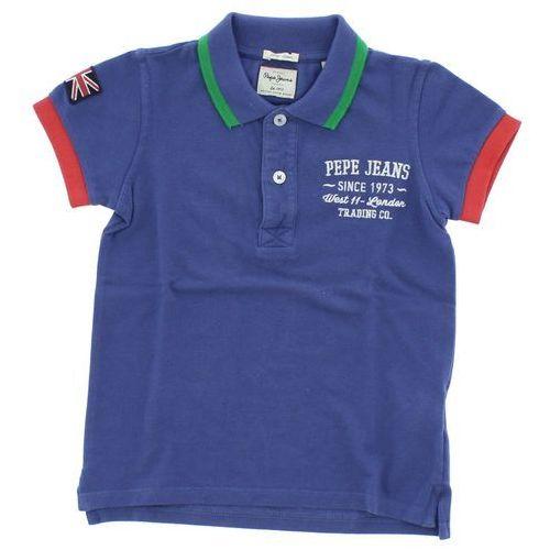 Pepe Jeans Polo T-shirt dziecięcy Niebieski 2 years old - produkt z kategorii- T-shirty dla dzieci