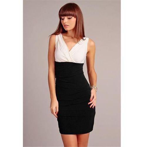 Sukienka Model Margo White/Black