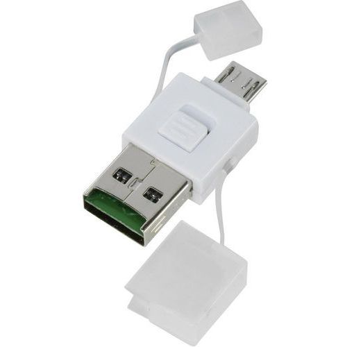 Czytnik kart pamięci USB, smartfon/tablet Renkforce OTG102, USB 2.0, MicroUSB 2.0, OTG102
