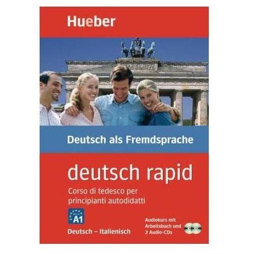 deutsch rapid, Deutsch-Italienisch, 2 Audio-CDs u. Arbeitsbuch (9783190074655)