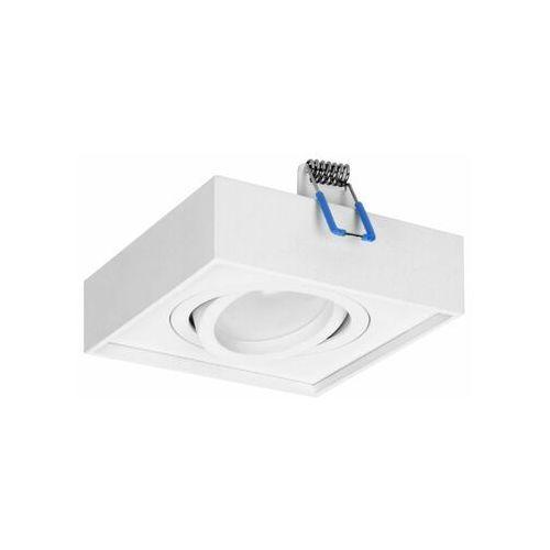 SORMUS S ramka dekoracyjna oprawy punktowej, MR16/GU10 max 50W, regulowana, kwadrat, biała OR-OD-6168/W, kolor biały