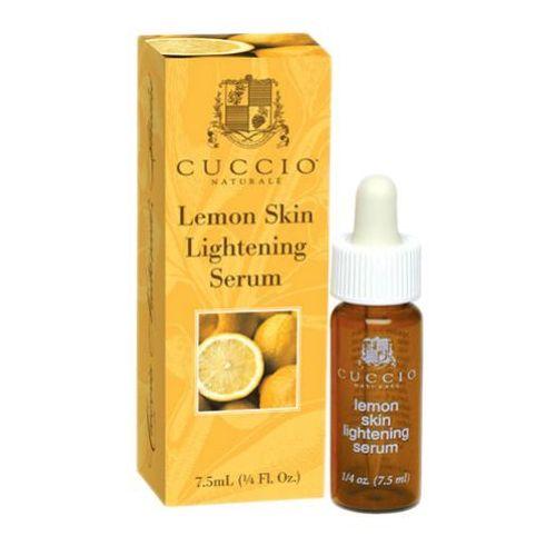Cuccio lemon skin lightening serum cytrynowe serum wybielające plamy pigmentacyjne
