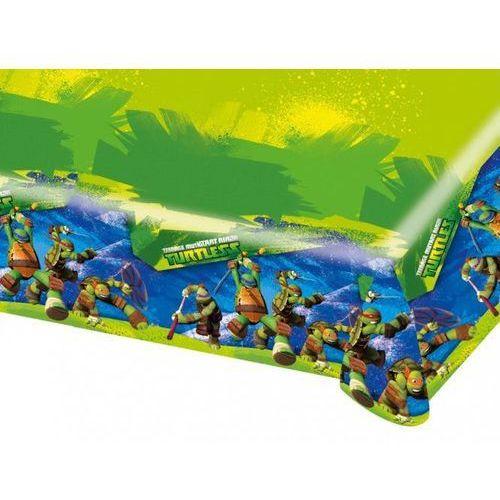 """Obrus foliowy """"Żółwie Ninja"""", AMSCAN, 180x120 cm"""