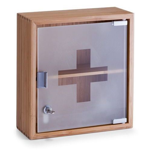 Zeller Szafka medyczna, apteczka, 100% bambus - 2 poziomy, (4003368135946)