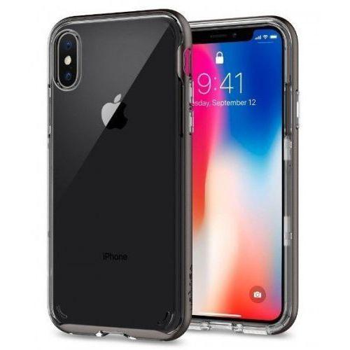 Spigen Etui neo hybrid crystal do apple iphone x szary