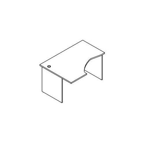 Svenbox Biurko kątowe bh26 wymiary: 137x100x75,8 cm