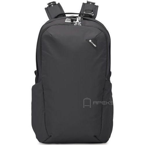 """Pacsafe Vibe 25 plecak miejski na laptopa 13"""" / Black - Black, kolor czarny"""