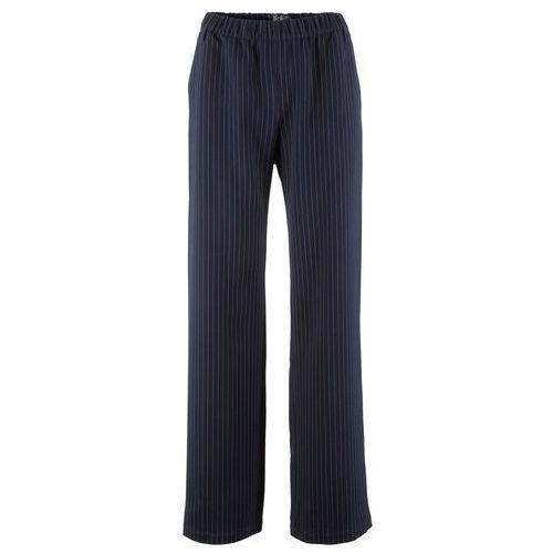 """Bonprix Spodnie """"loose fit"""" jaskrawy jasnoróżowy z nadrukiem"""