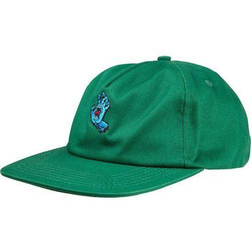 czapka z daszkiem SANTA CRUZ - Screaming Mini Hand Cap Forest (FOREST)