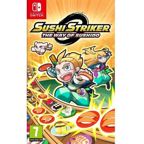 Gra switch sushi striker: the way of sushido + darmowy transport! marki Nintendo