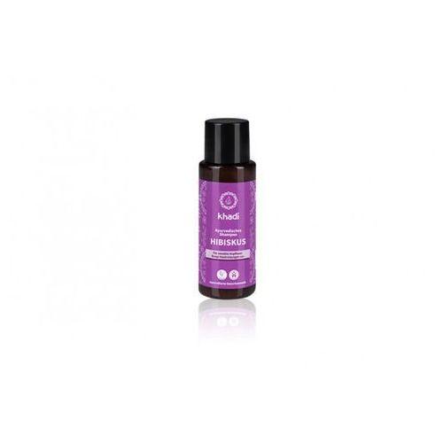 delikatny szampon z hibiskusem 30 ml marki Khadi