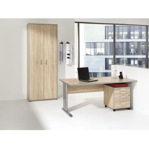 Unbekannt Jack - zestaw mebli do biura,biurko, kontener na kółkach, szafa