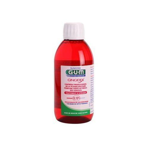 G.U.M Gingidex 0,12% płyn do płukania jamy ustnej przeciw płytce nazębnej i dla zdrowych dziąseł bez alkoholu + do każdego zamówienia upominek. z kategorii Płyny do jamy ustnej