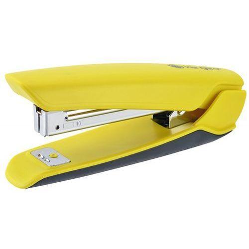 Zszywacz nowa-10/s, zszywa do 15 kartek, plastikowy, w pudełku pp, żółty marki Kangaro