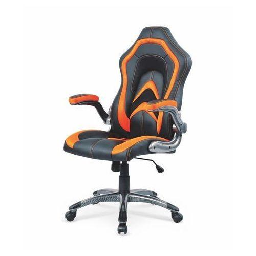 Anaconda fotel gamingowy dla graczy czarno-pomarańczowy marki Style furniture