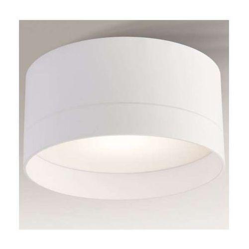 Plafon LAMPA sufitowa TOSA 1182/GX53/BI Shilo okrągła OPRAWA natynkowa biała