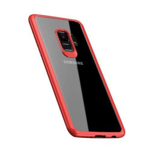 iPaky Frame elastyczne żelowe etui z ramką Samsung Galaxy S9 G960 różowy, kolor różowy