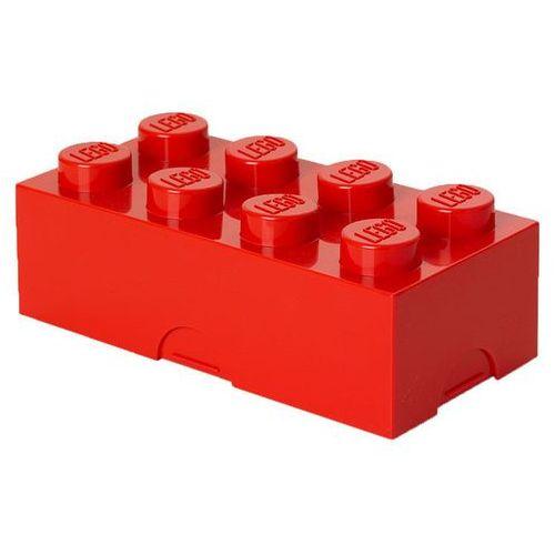 Room copenhagen Śniadaniówka lego klocek czerwony - lego pojemniki
