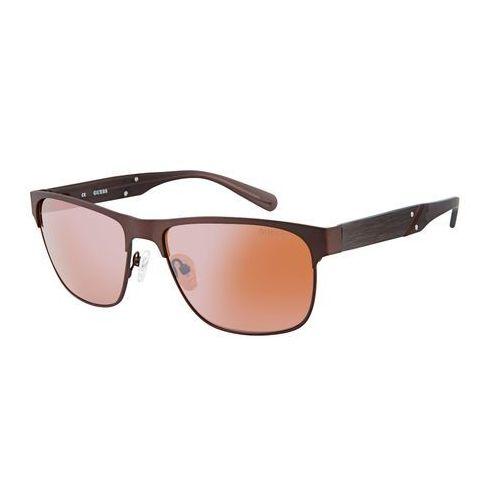 Okulary przeciwsłoneczne męskie - gu6807-67 marki Guess