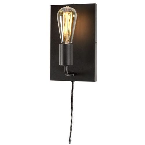 It's about romi lampa ścienna madrid/wa/b, czarna, rozmiar l madrid/wa/b, MADRID/WA/B