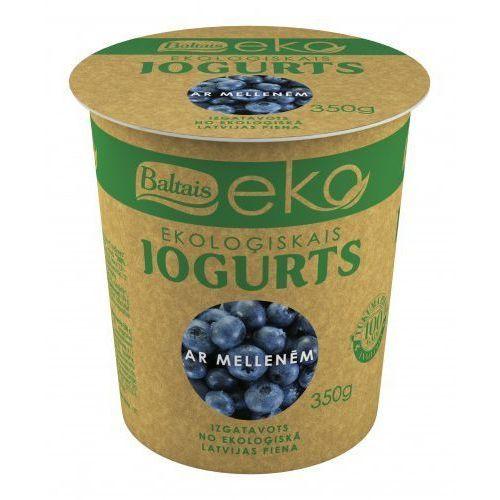 Jogurt jagodowy bio 350 g - eko marki Baltais