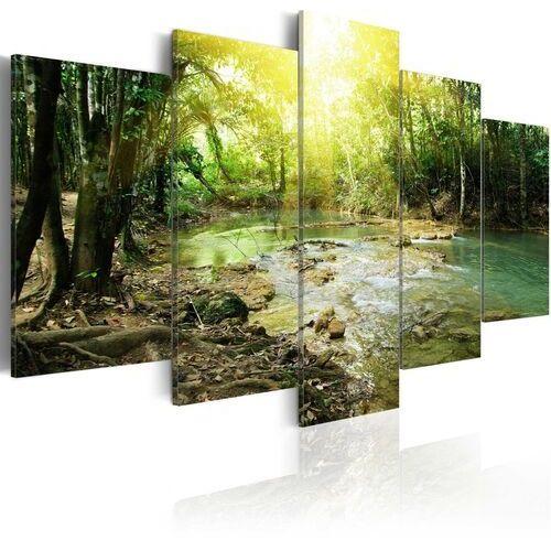 Obraz - leśna rzeka marki Artgeist