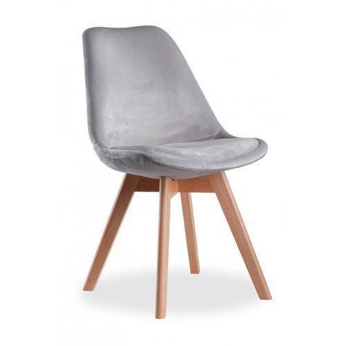 Kris A aksamit krzesło