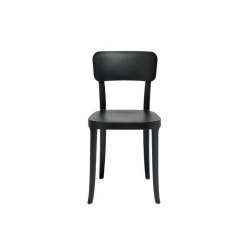krzesło k czarne 14001bl marki Qeeboo