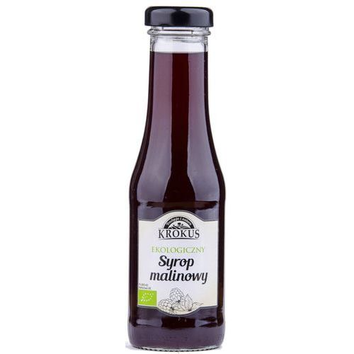Ekologiczny syrop malinowy sok maliny 300ml -  marki Krokus