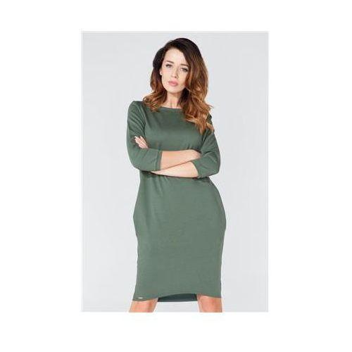 Sukienka model t105 green, Tessita