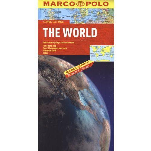 Mapa polityczna świata 1:32 000 000, praca zbiorowa