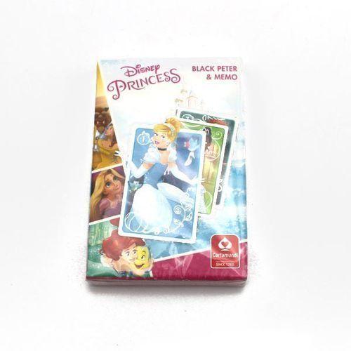 Cartamundi Czarny Piotruś Memo - Disney Princess, 1_565549