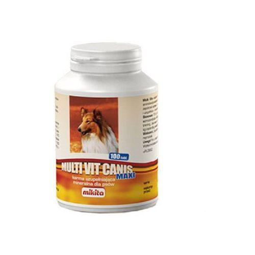 Mikita multi vit canis maxi - karma uzupełniająca witaminowo-mineralno-aminokwasowa dla psów 100tab. (5907615401039)