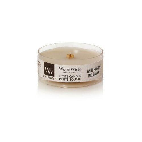 świeca petite white honey 31g marki Woodwick