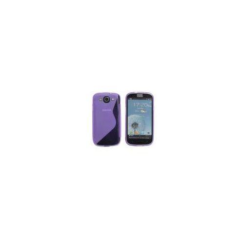 ADVANCED ACCESSORIES Etui S-Line GEL dedykowane do Samsung Galaxy S3 - fioletowe Odbiór osobisty w ponad 40 miastach lub kurier 24h (Futerał telefoniczny)