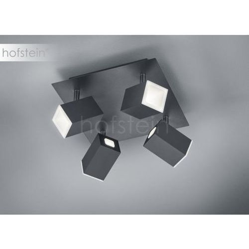 lagos lampa sufitowa led czarny, 4-punktowe - nowoczesny/przemysłowy - obszar wewnętrzny - lagos - czas dostawy: od 3-6 dni roboczych marki Trio
