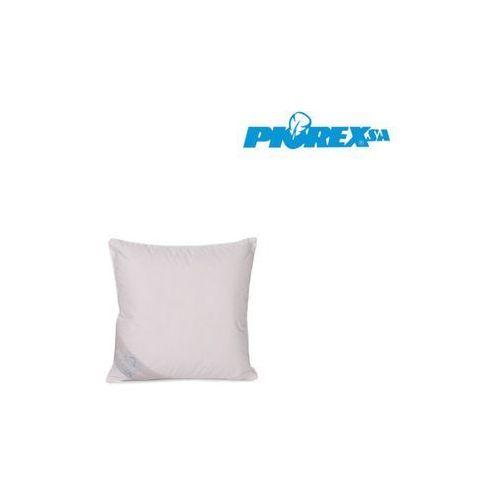 Poduszka puchowa linia ekskluzywna, kolor - biały, rozmiar - 40x40 wyprzedaż, wysyłka gratis marki Piórex