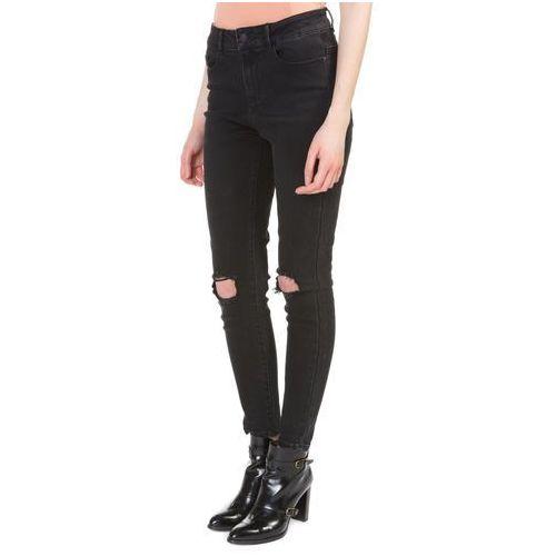 nine jeans czarny 25/32 marki Vero moda