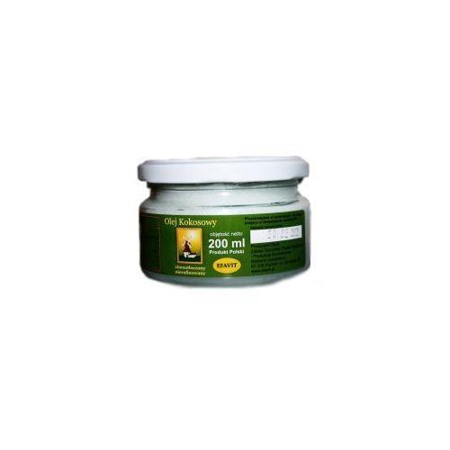 Olej kokosowy zimnotłoczony nierafinowany 200ml marki Efavit