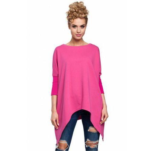 Bluza Damska Model MOE289 Fuksja, kolor różowy