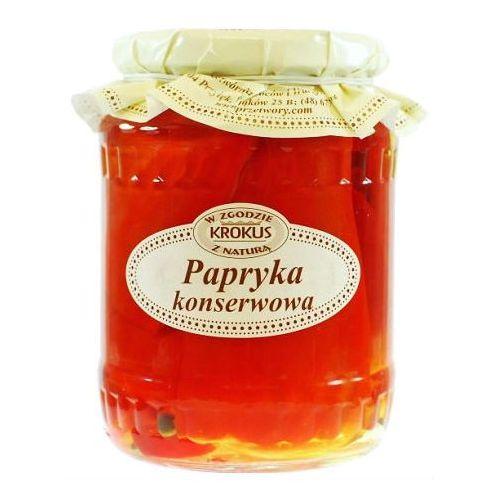 KROKUS 670g Papryka konserwowa tradycyjna receptura