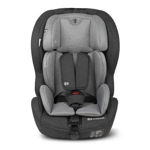 Kinderkraft Fotelik safety-fix isofix 9-36 kg czarno-szary - darmowa dostawa!!!