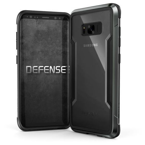 X-Doria Defense Shield - Etui aluminiowe Samsung Galaxy S8 (Black), 456609