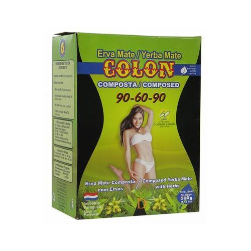 Yerba mate colon, paragwaj Yerba mate colon 90-60-90 500g (7840037000832)