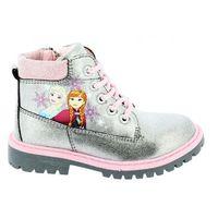 Disney by arnetta buty dziewczęce z motywem frozen 24 srebrne