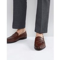 raphael leather loafers in brown - brown, Walk london