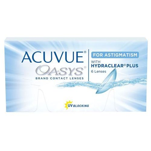 Johnson & johnson Wyprzedaż - acuvue oasys for astigmatism 6 szt.