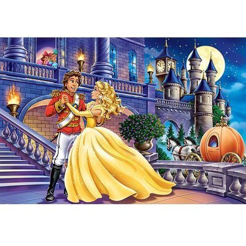 1-040254 Puzzle Kopciuszek przyjeżdza na zamek - PUZZLE DLA DZIECI