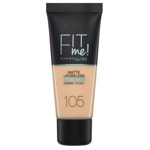 fit me! matte and poreless foundation - 105 natural ivory marki Maybelline